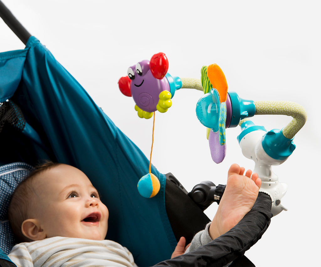 2017 BABY INNOVATION AWARD. 11 in 1 BEST multifunctional & developmental TOYS SET Attachable Anywhere!