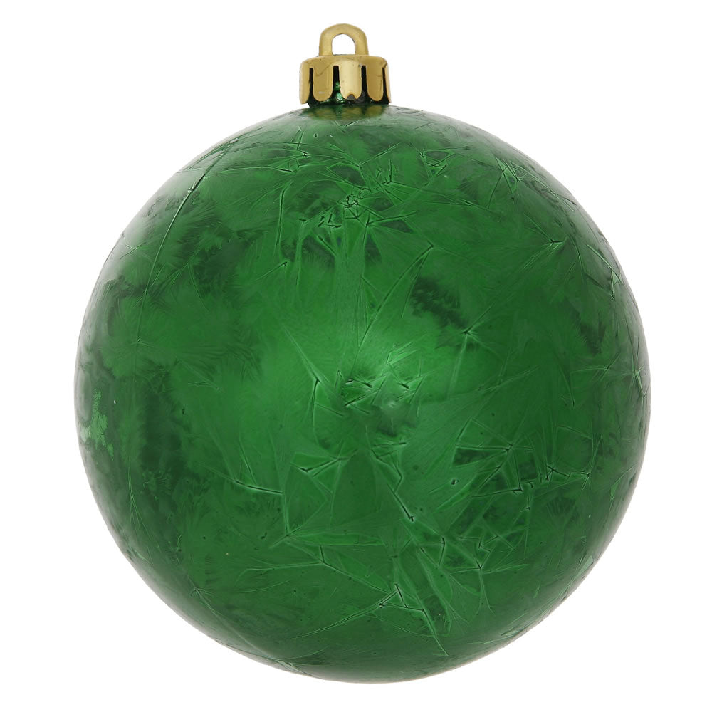 Vickerman 6 in. Green Ball Christmas Ornament