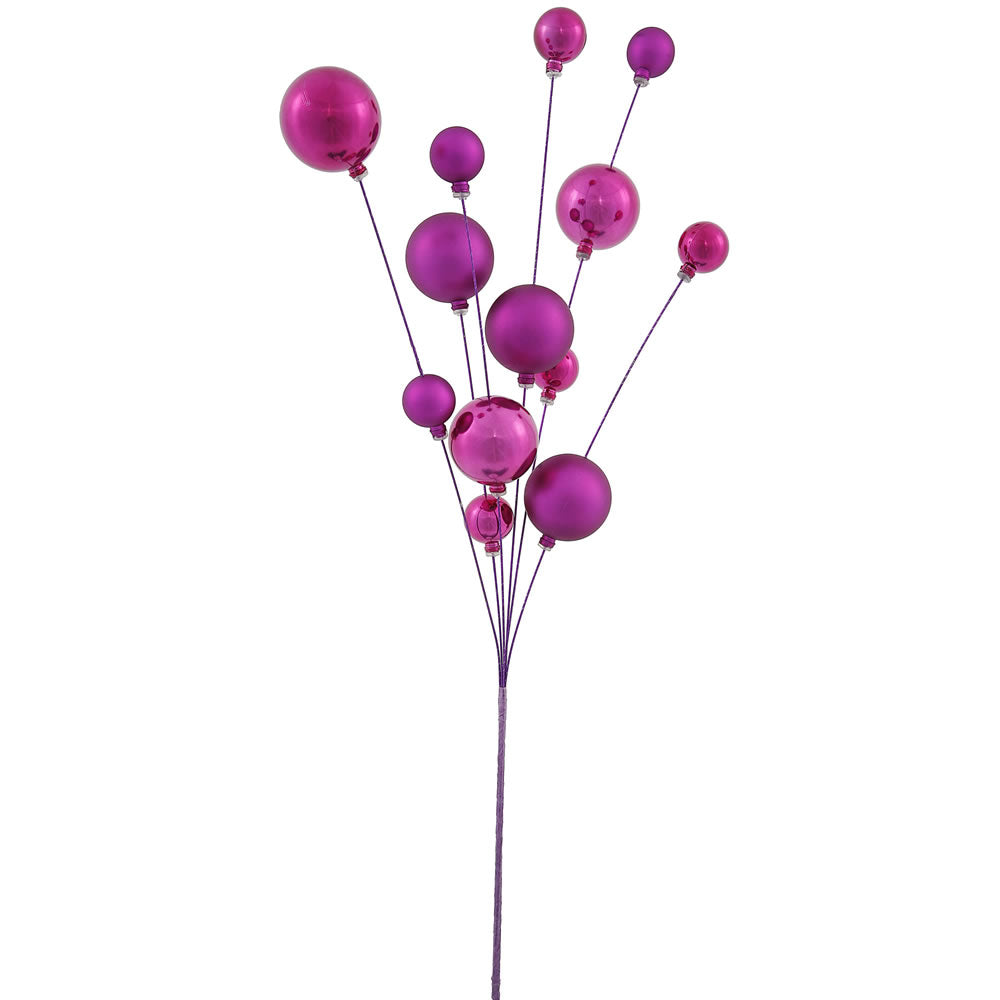 "32"" Magenta UV Shiny Matte Ball Spray"