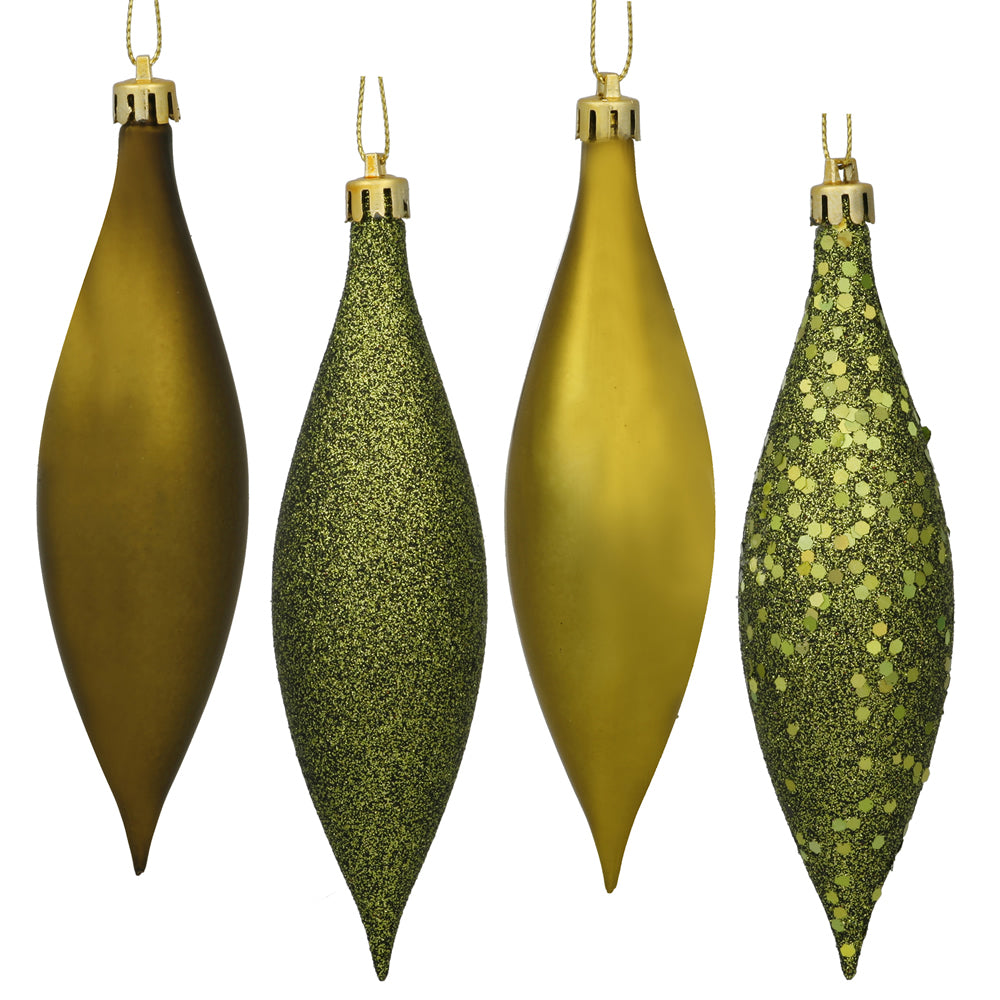 Vickerman 5.5 in. Olive Drop Christmas Ornament