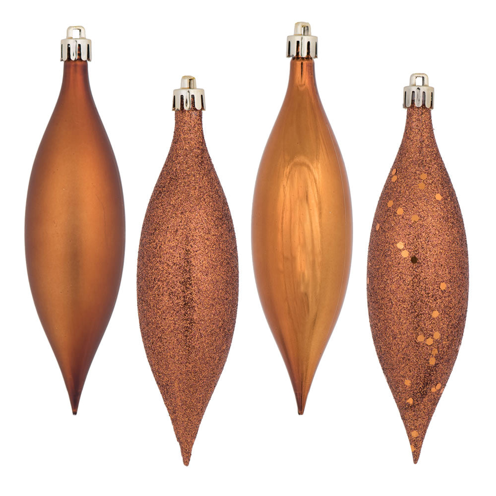 Vickerman 5.5 in. Copper Drop Christmas Ornament