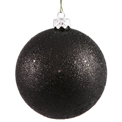 "12"" Black Sequin Ball Drilled Cap"