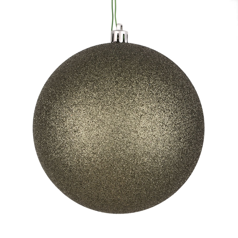 Vickerman 4.75 in. Wrought Iron Glitter Ball Christmas Ornament