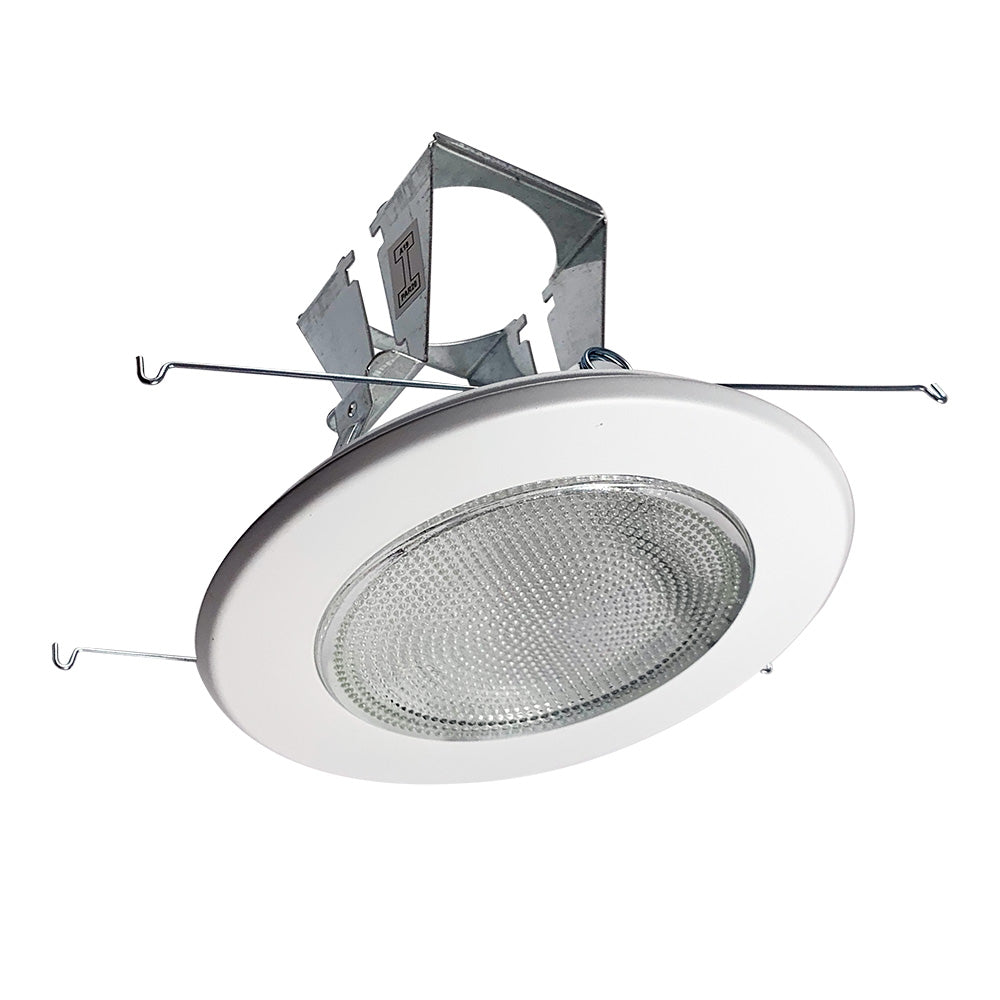 NICOR 5 in. White Fresnel Shower