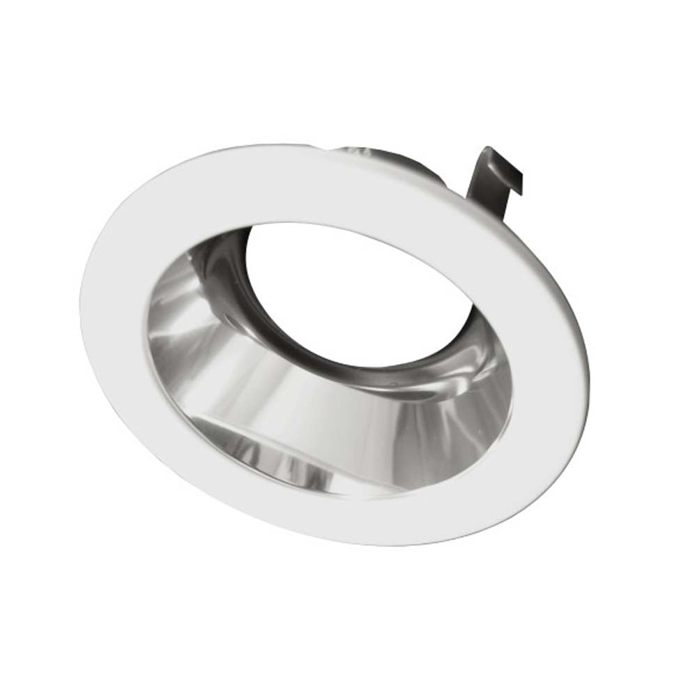 4 in. White Specular Recessed Reflector Trim