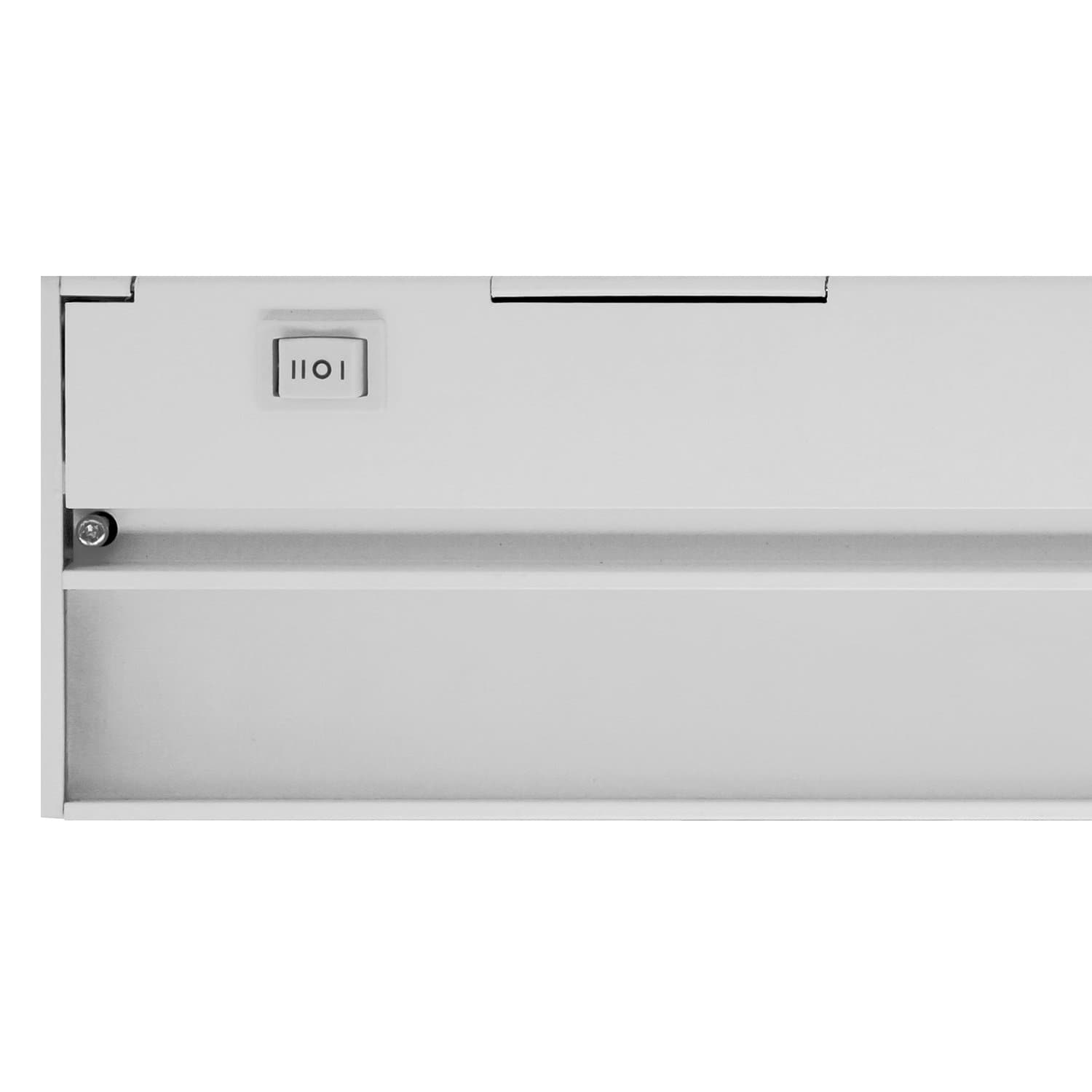 NICOR Slim 21 inch Dimmable LED Under-Cabinet Lighting Fixture White Finish