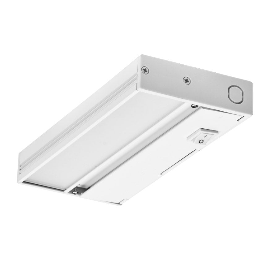 NICOR Linkable 8 in. Slim Dimmable White LED Under Cabinet Light Fixture