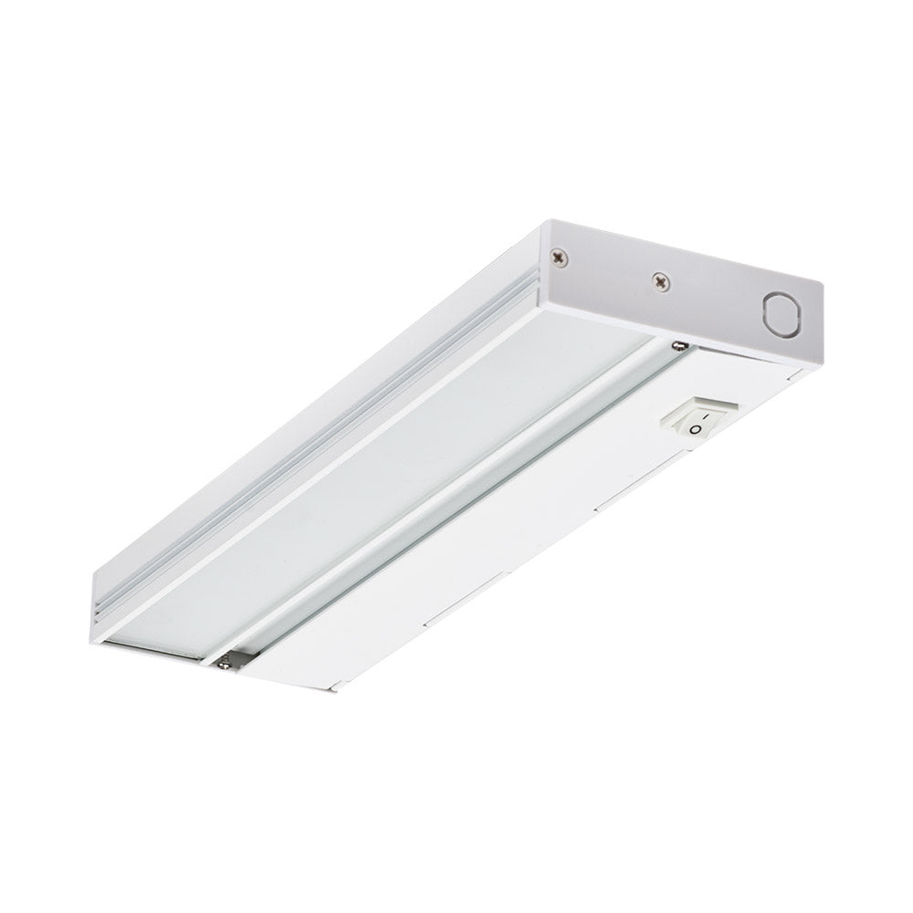 NICOR Linkable 12 in. Slim Dimmable White LED Under Cabinet Light Fixture