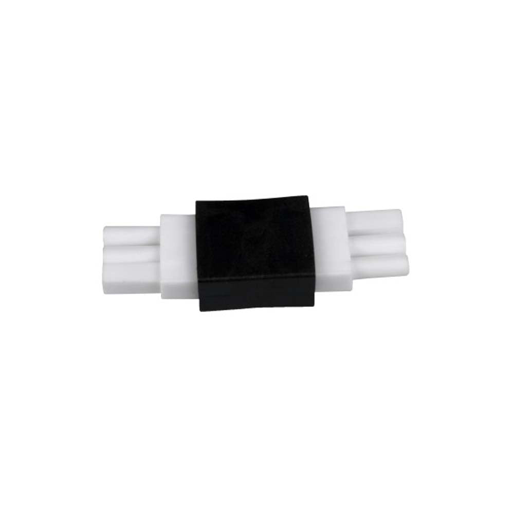 2 in. Black End-to-End Connector for NUC-4 Linkable Undercabinet Lights
