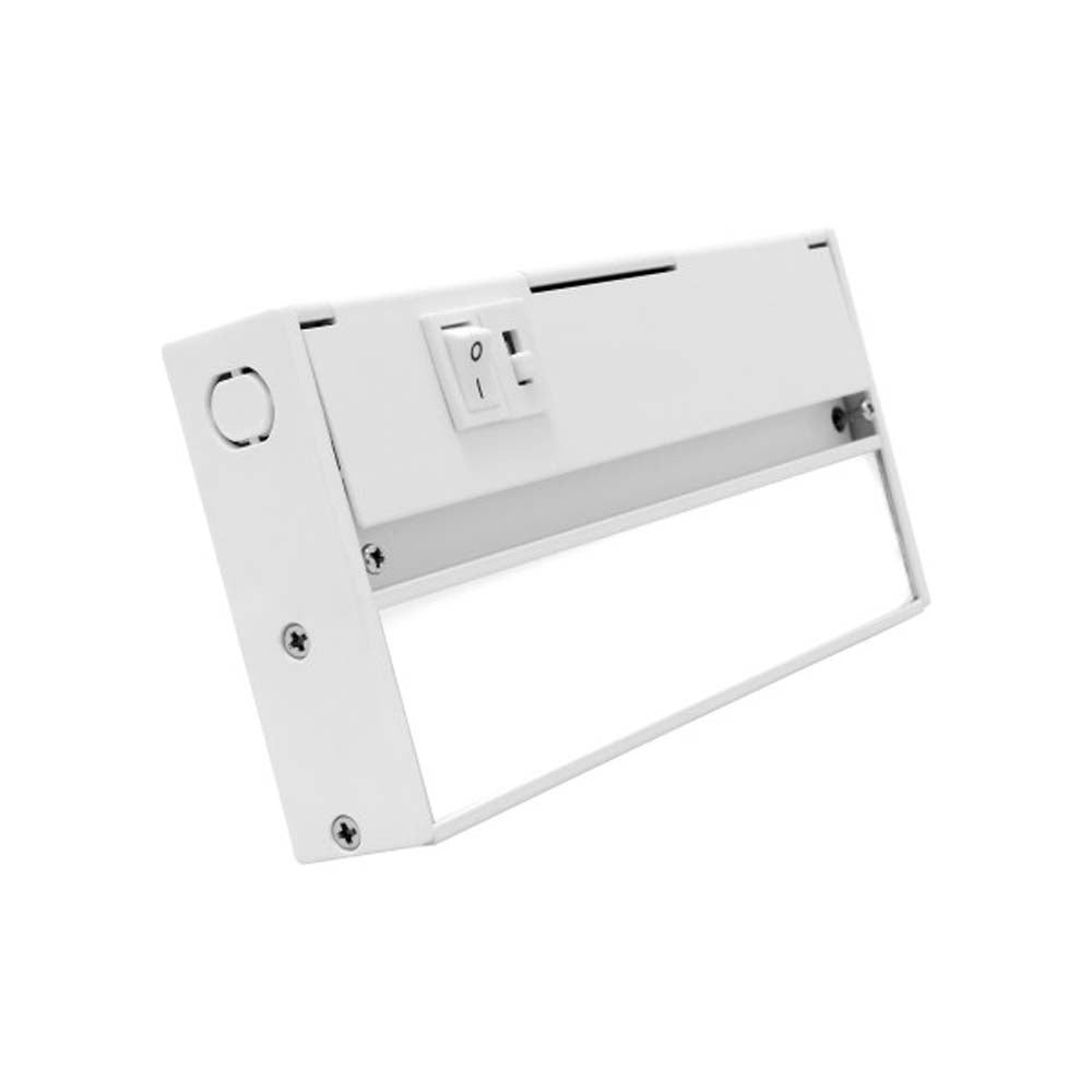 NUC-5 Series 8-inch White Selectable LED Under Cabinet Light