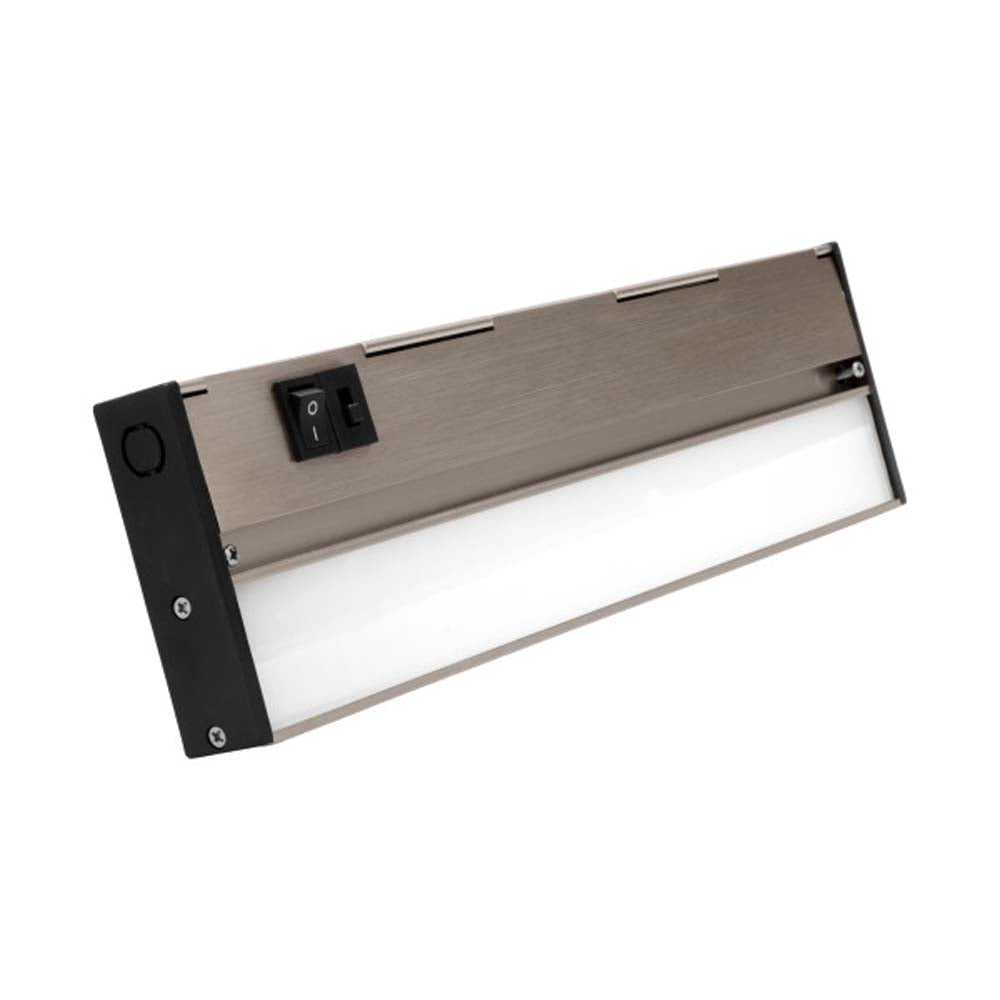 NUC-5 Series 12.5-inch Nickel Selectable LED Under Cabinet Light