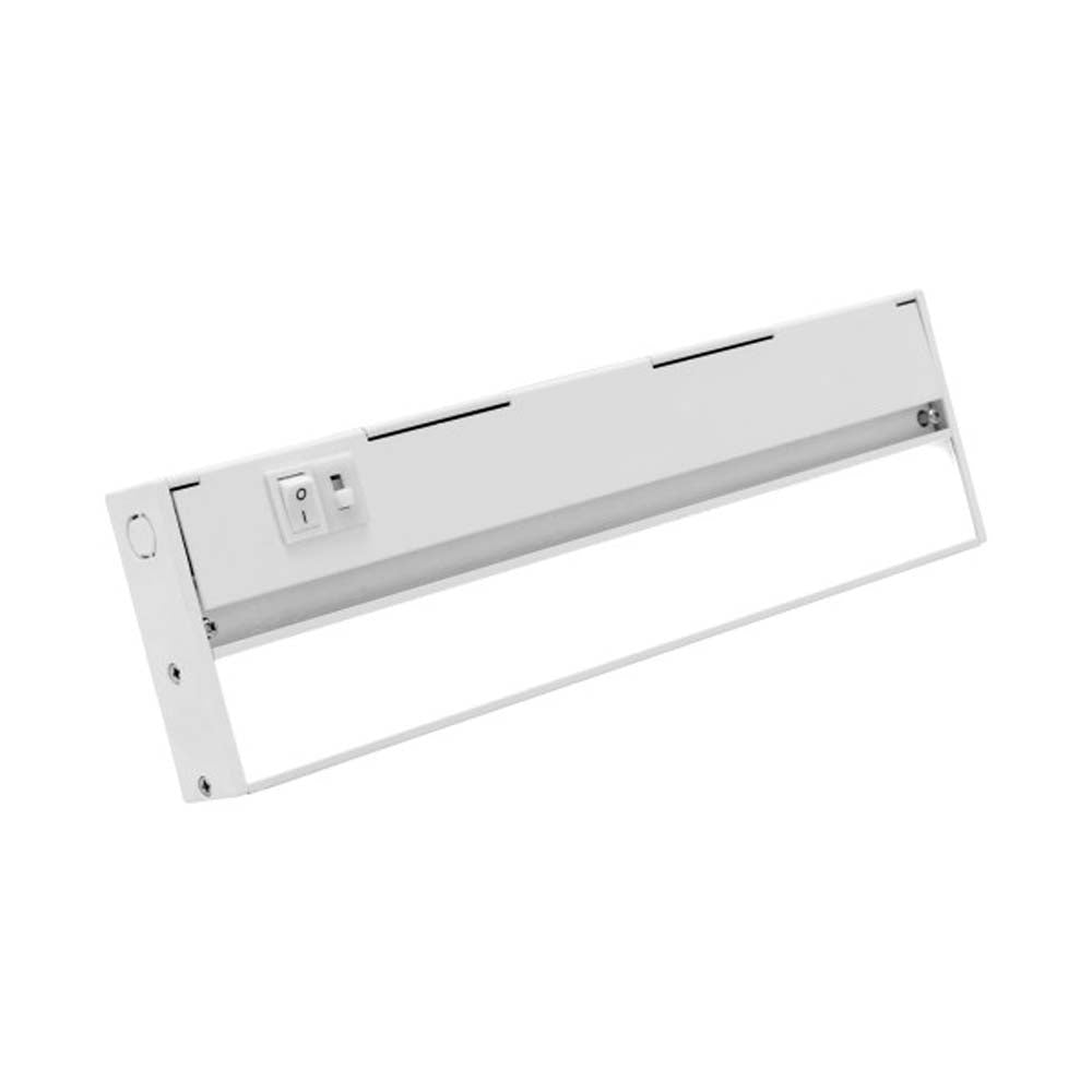 NUC-5 Series 12.5-inch White Selectable LED Under Cabinet Light