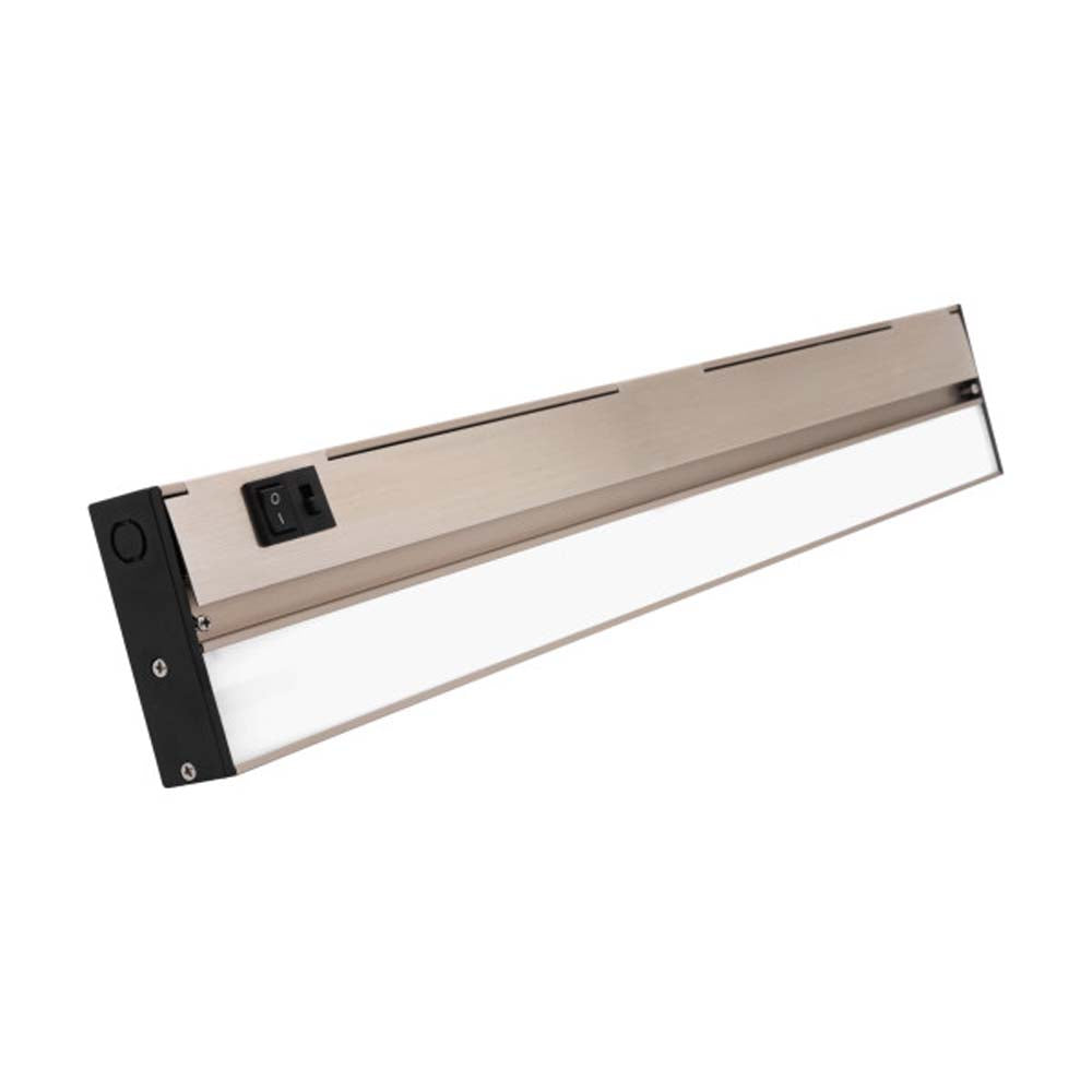 NUC-5 Series 21.5-inch Nickel Selectable LED Under Cabinet Light