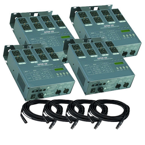 MATRIX DMX 4Channel Dimmer Pack System