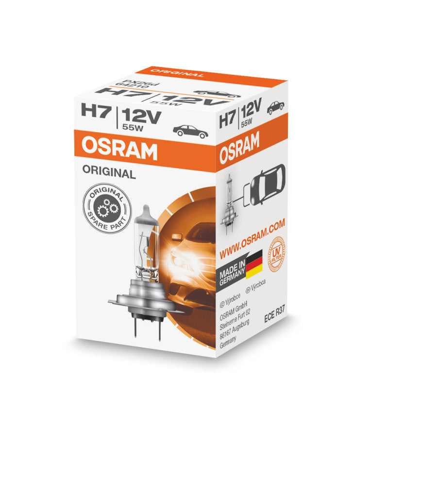 OSRAM H7 12V 55W - 64210 - Original Line High Performance Automotive Bulb
