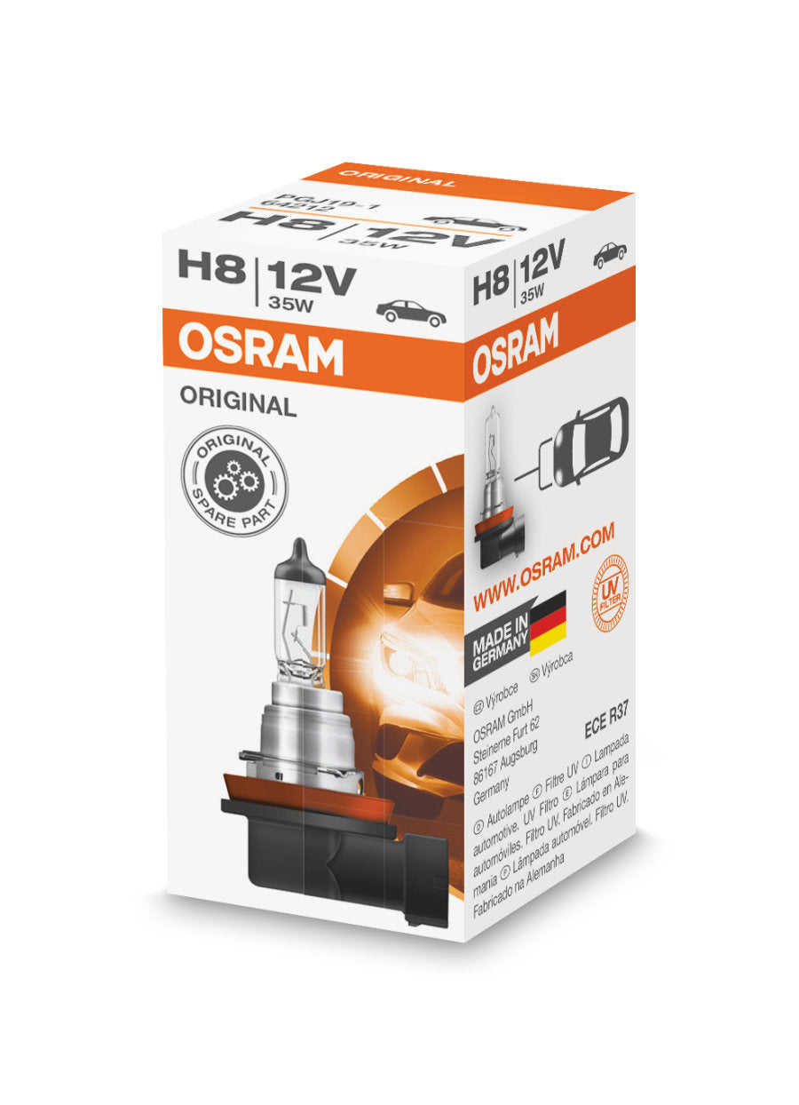 OSRAM 64212 - H8 35W 12V - Original Line High Performance Automotive Bulb