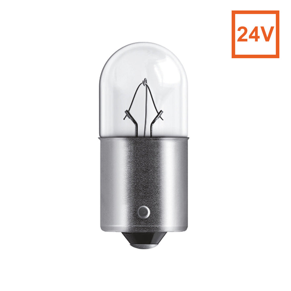 Osram 5637 R10W 24V 10W BA15s Automotive Bulb Engineered for Trucks and Buses