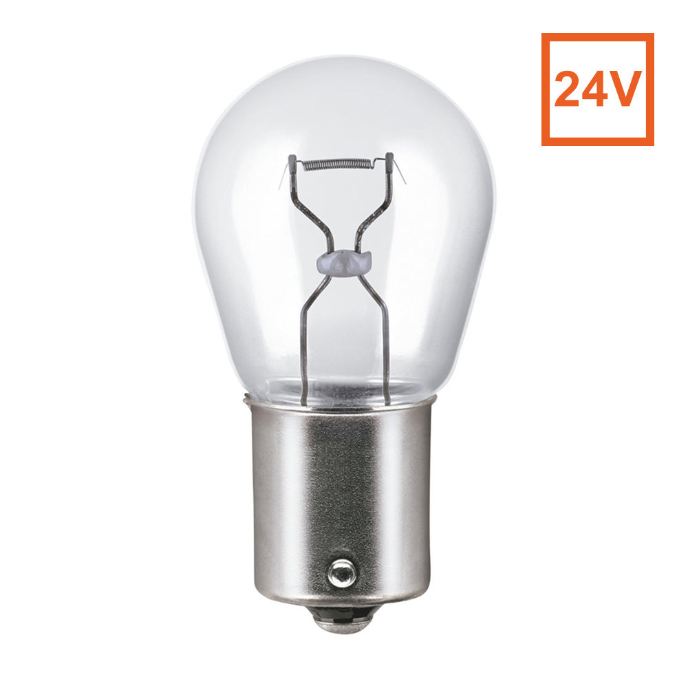 Osram 7511 24V P21W BA15s Automotive Bulb - Engineered for Trucks and Buses