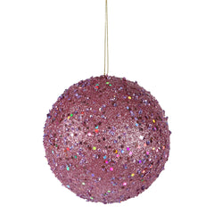 "4.75"" Lavender Jewel Ball W/String"
