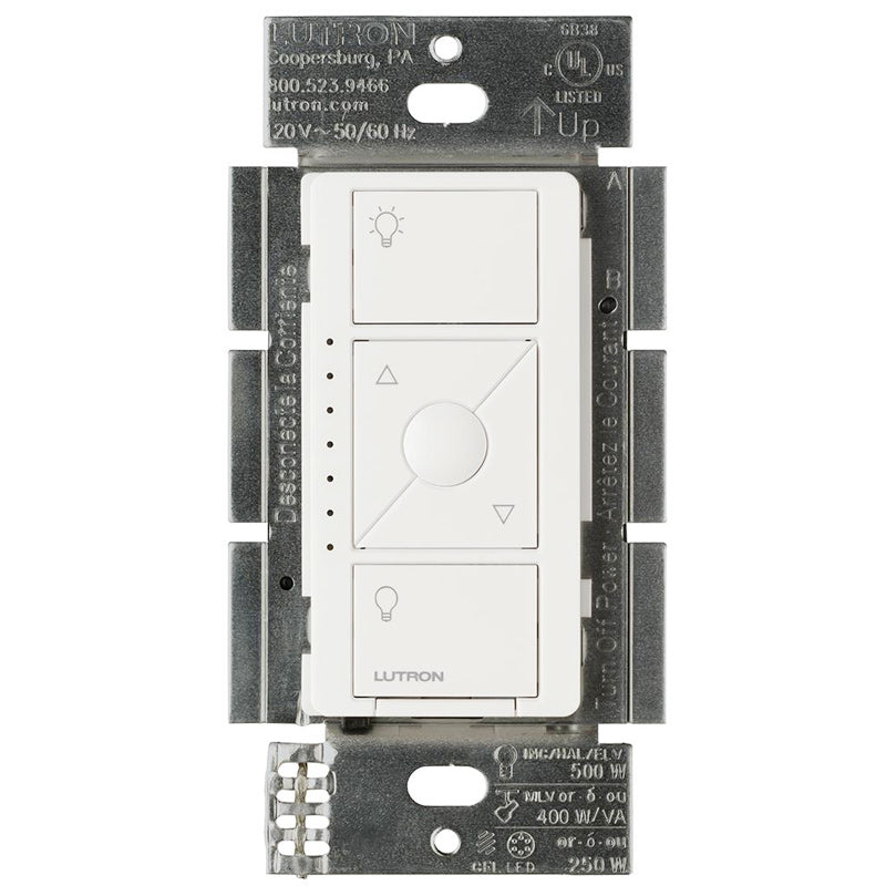 Lutron Caseta Wireless - Electronic Low Voltage In-Wall Dimmer (ELV)  - White