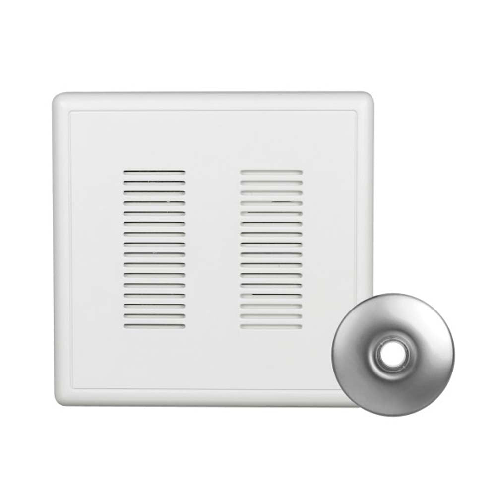 Nicor PrimeChime Plus 2 - Doorbell Chime Kit with Nickel  Button