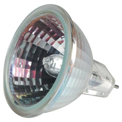GE 77907 45w 12v MR16 GU53.3 Spot SP10 With Front Glass CC-8 Halogen Indoor Bulb