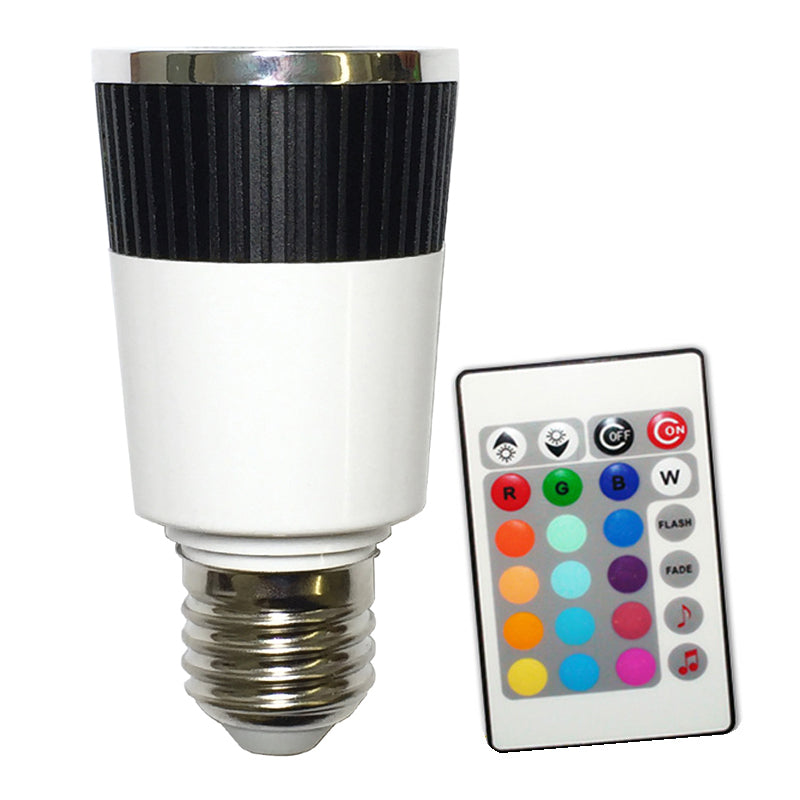 PLATINUM Music LED Color Changer E27 Lamp With Wireless Remote