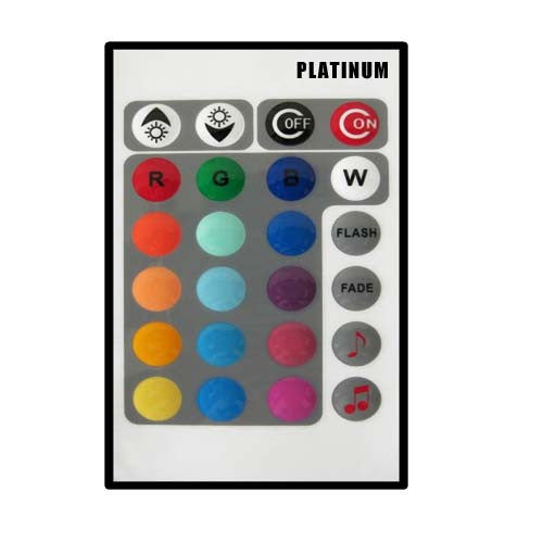 PLATINUM Music LED IR Remote Controller
