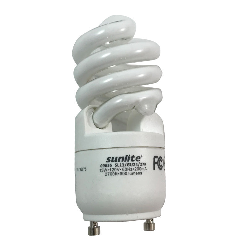SUNLITE 13W GU24 WW CFL Mini Twist Light Bulb