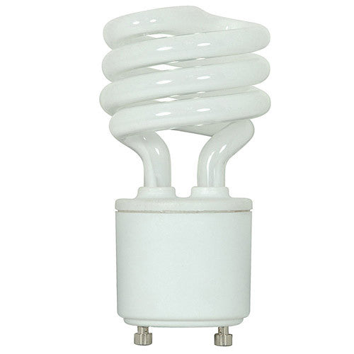 Ushio Compact Fluorescent 13W Mini Twist GU24 cool white light bulb