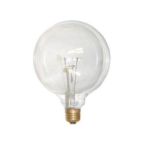 SUNLITE 100W 120V Globe G40 E26 Clear Incandescent Light Bulb