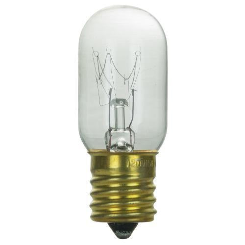 SUNLITE 15w T7 120v Intermediate Base Clear Bulb