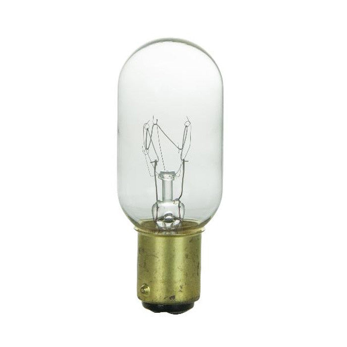 SUNLITE 25w T8 120v Double Contact Base Clear Bulb