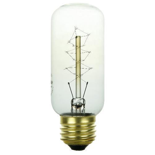 SUNLITE 40 watt Antique Carbon Filament 40T12 light bulb