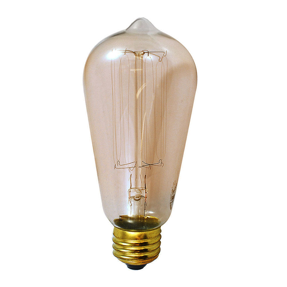 SUNLITE 60 watt Antique Carbon Marconi Filament S19 light bulb