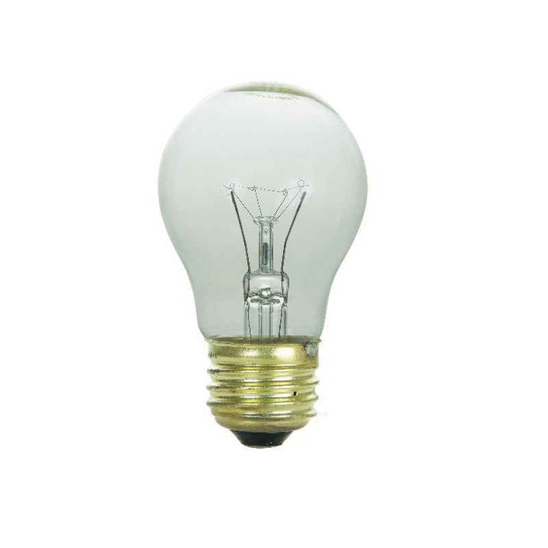 SUNLITE 60w A15 130v Medium Base Clear Appliance Light Bulb