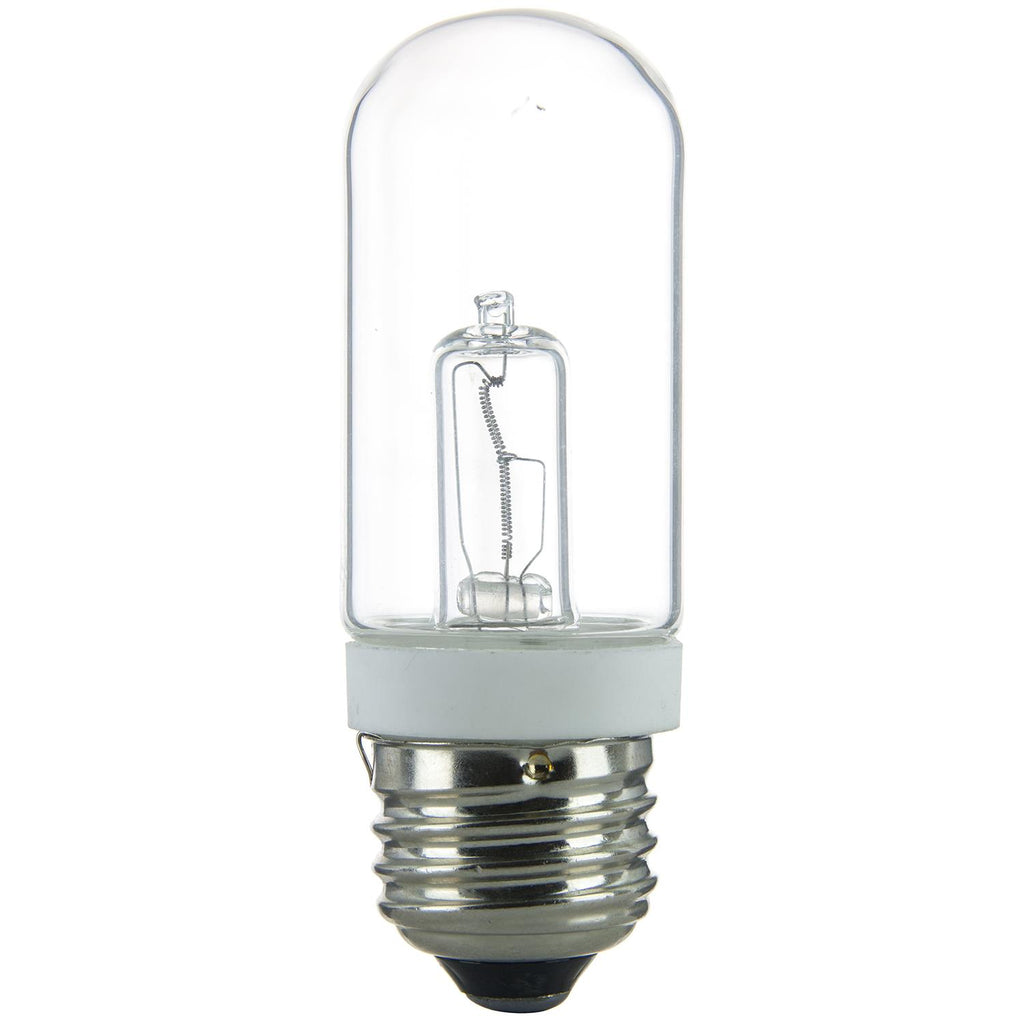 Sunlite 75w 120v JDD T10 Single Ended Double Envelope Clear 3200k Halogen Bulb