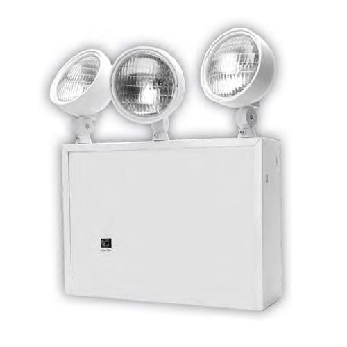 SUNLITE 04309-SU 3 bulb 9 watt Commercial and Residential Emergency Exit Light