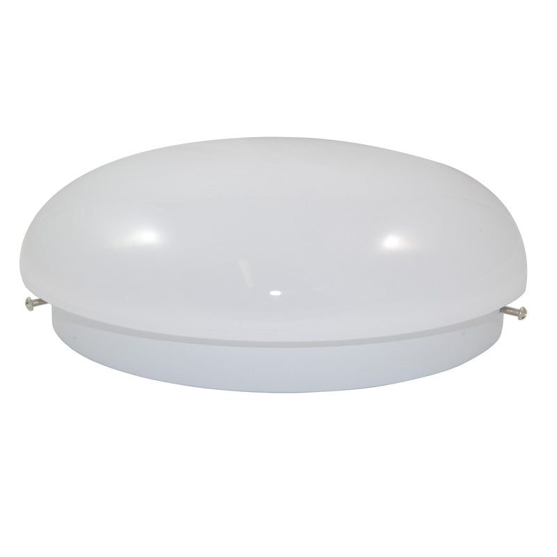 SUNLITE 12 inch Fluorescent Circline Fixture with White Mushroom Lens