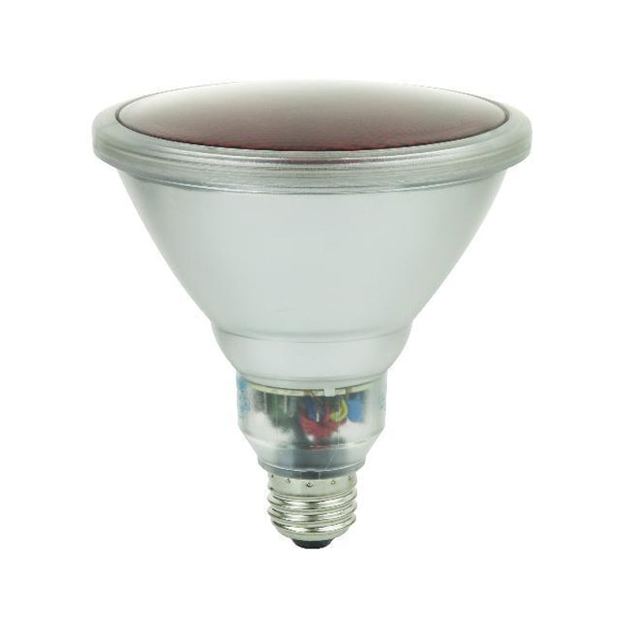 SUNLITE Red CF SL23PAR38, 23 Watts Outdoor Floods Bulb