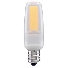 Satco 4watt LED E12 Candelabra base 3000K Dimmable Frosted 120-130v Light Bulb