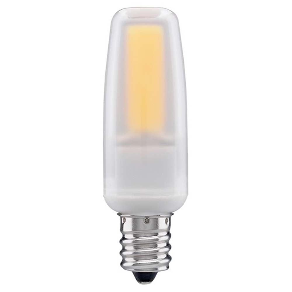 Satco 4watt LED E12 Candelabra base 5000K Dimmable Frosted 120-130v Light Bulb