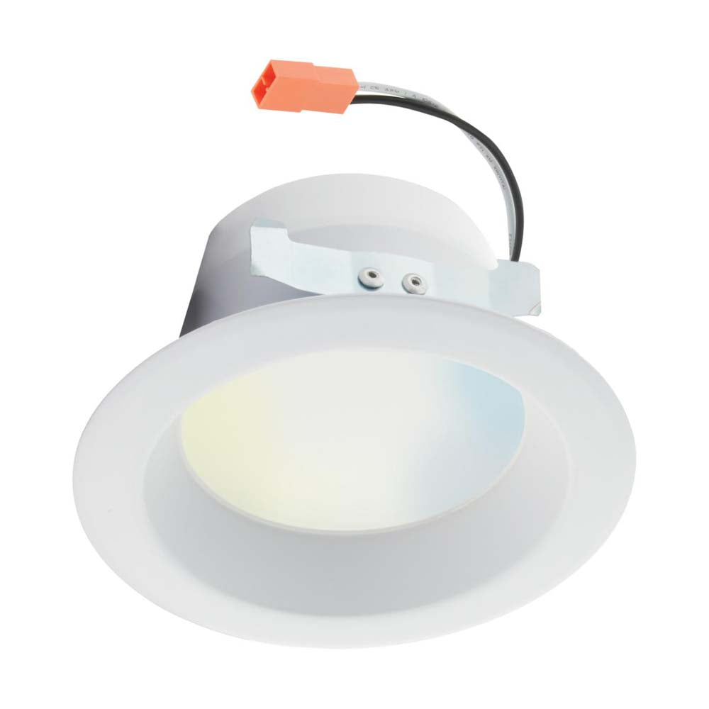 Satco 4 inch 8.7w LED Recessed Downlight Tunable White Starfish IOT 700lm 120v