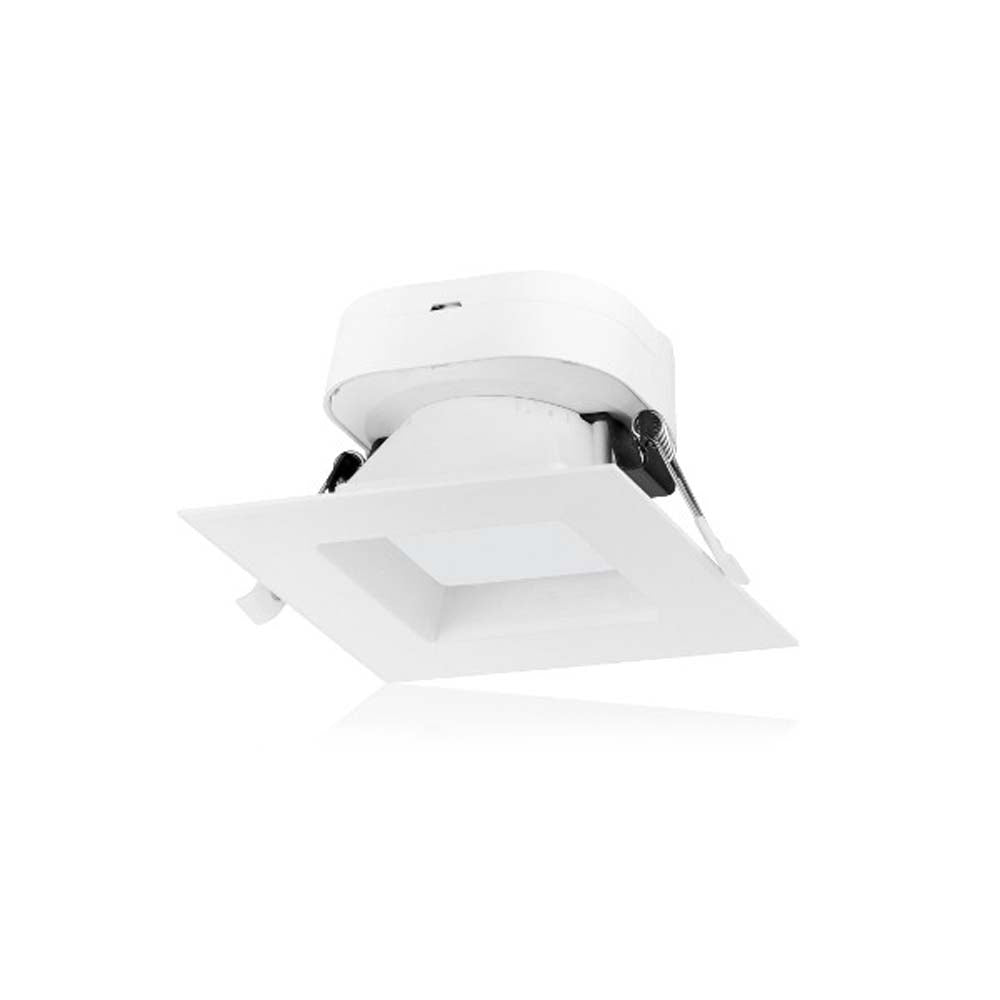 7 watt LED Direct Wire Downlight 4 inch 5000K 120 volt Dimmable Square