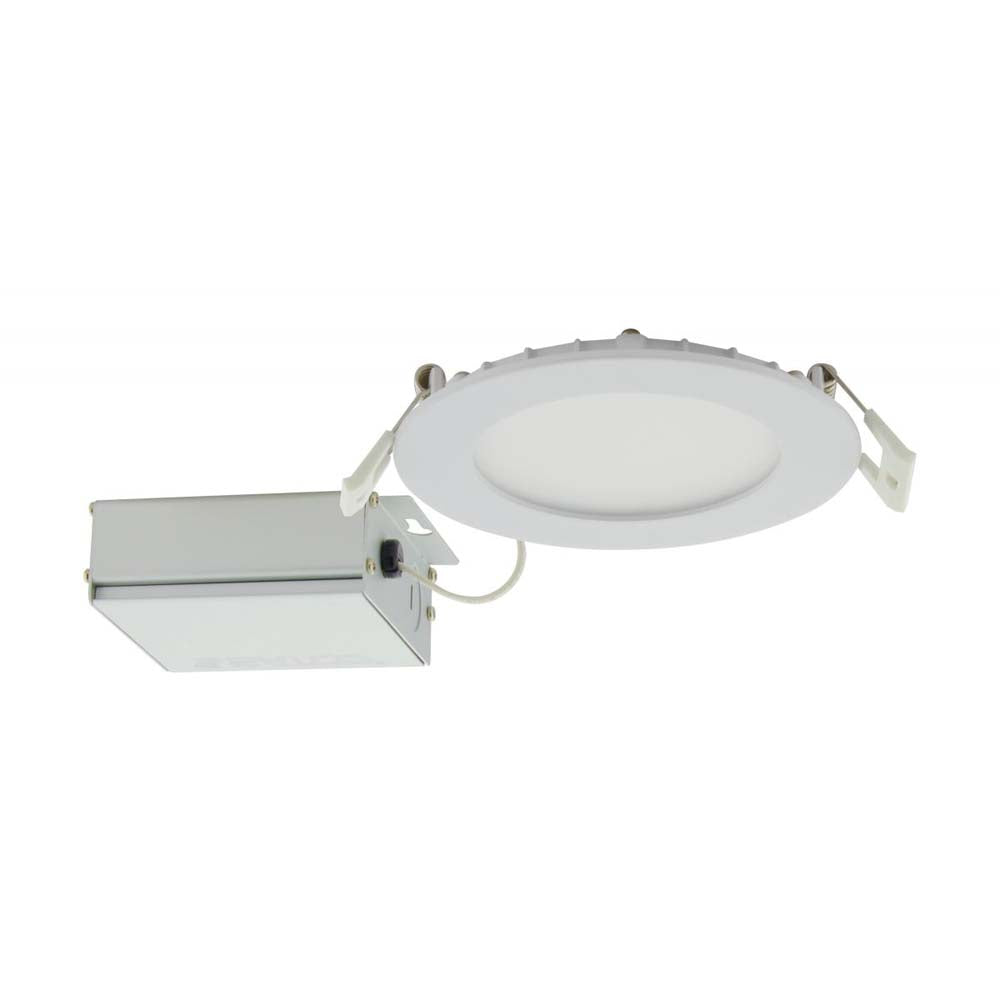 Satco 10w LED 4 inch CCT Selectable 120 volt Direct Wire Round Downlight