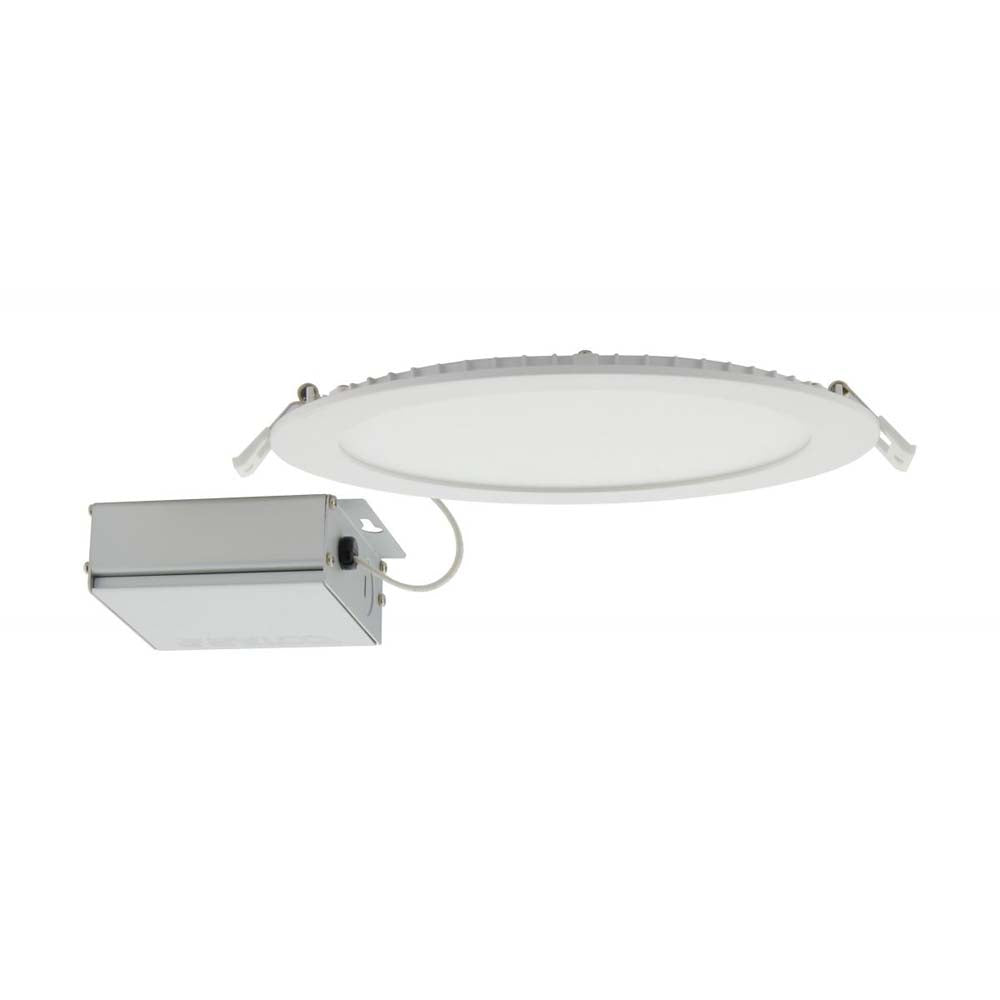Satco 24w LED 4 inch CCT Selectable 120 volt Direct Wire Round Downlight