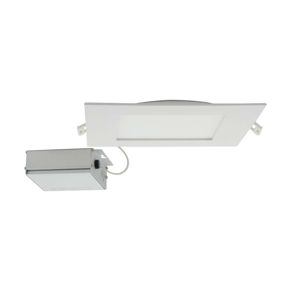 Satco 24w LED 8 inch CCT Selectable 120 volt Direct Wire Square Downlight