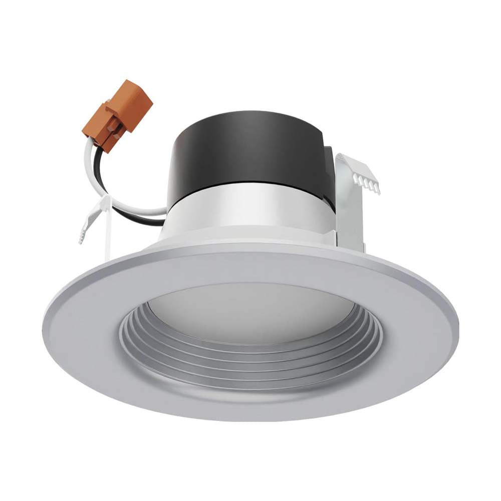 Satco 4 in 7w LED Downlight Retrofit Brushed Nickel Finish Tunable 120v Dimmable
