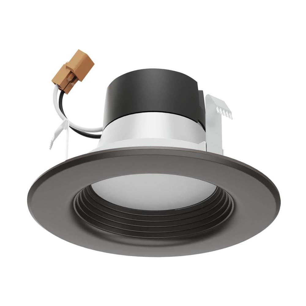 Satco 4 in 7w LED Downlight Retrofit Bronze Finish Tunable 120v Dimmable