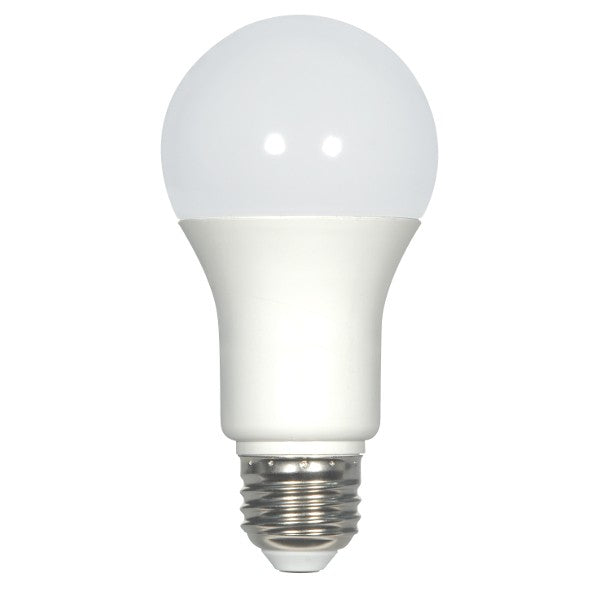 Satco S15011 9w A19 LED Medium 2700k Warm White Non-Dimmable Replacement Bulb